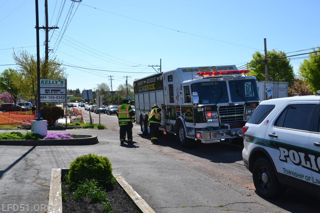 MVA at Ridge Pike and North Lewis Road - Limerick Fire